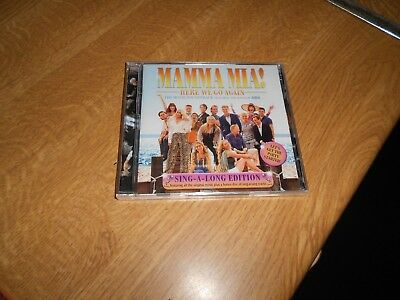 Mamma Mia..here We Go Again...the Movie Soundtrack..sing-A-Long Edition .cd