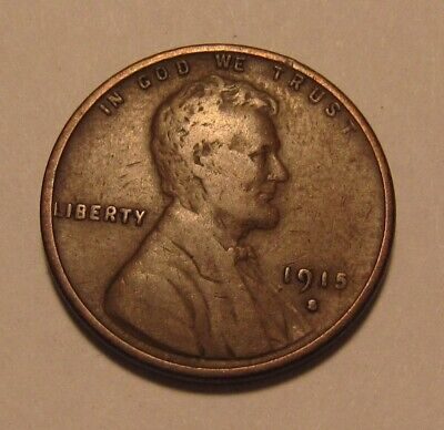1915 S Lincoln Cent Penny - Very to Extra Fine Condition - 11SU