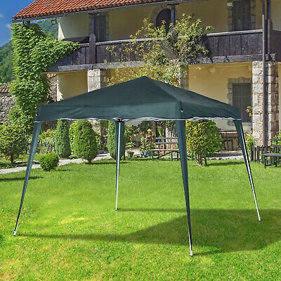 Outsunny 3x3M Pop Up Tent Gazebo Shelter Event Garden Camping Portable Green