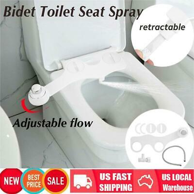 Adjustable Self-Cleaning Nozzle Non-Electric Fresh Water Spray Bidet Toilet Seat