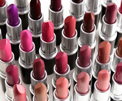 MAC LIPSTICK 24 COLORS ROUGE A LEVRES NEW AND BOXED MATTE 3g