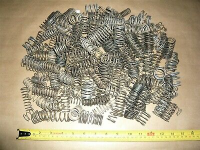 LARGE MEDIUM COMPRESSION SPRINGS ASSORTED VARIOUS SIZES TYPES JOB LOT 1.8kg L17