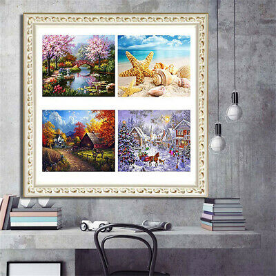 5D Full Square Dirll Embroidery Paintings Rhinestone Pasted DIY Diamond Painting
