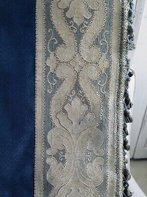 Antique 1800s french Curtain Panel Brocade f. Projects Antik Vorhang Frankreich