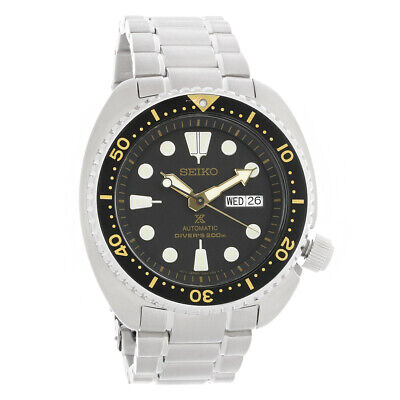 Seiko Automatic Prospex Dive Day/Date Stainless Steel Mens Watch SRP775