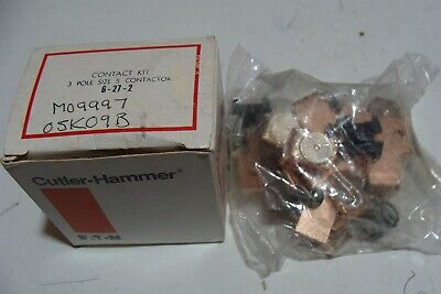 New Cutler Hammer SIZE 5 Contact Kit 3 Phase Direct Placement For 6-27-2 sealed