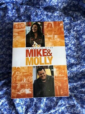 Mike and Molly: The Complete Series Collection DVD 1-6 Season 1 2 3 4 5 & 6 New