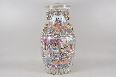 i36p39- Porzellan Vase China am Boden gemarkt