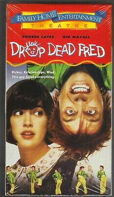 Drop Dead Fred (VHS, 1991) PHOEBE CATES RIK MAYALL PC