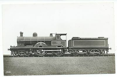 "LONDON & NORTH WESTERN RAILWAY - Steam Loco no.1918 ""RENOWN"" Real Photo Postcard"