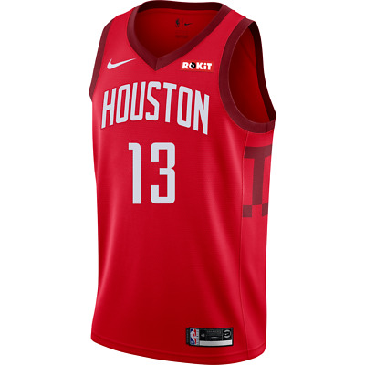 on sale cd38a ae7c5 JAMES HARDEN HOUSTON Rockets Nike 2018/19 Swingman Jersey ...