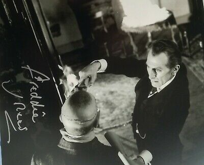 The Elephant Man Freddie Jones Photo Signed In Person B232