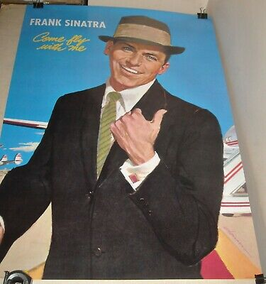 ROLLED Pyramid Posters UK PP 0842 FRANK SINATRA - COME FLY with ME ART POSTER