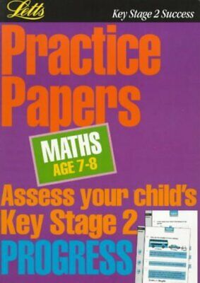 Practice papers.: Maths. Age 7-8 by Graham Booth (Paperback / softback)