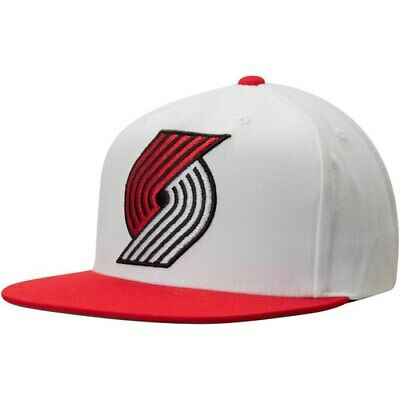 official photos 1143a a9eef Portland Trail Blazers Mitchell   Ness XL Logo Two-Tone Snapback Adjustable  Hat