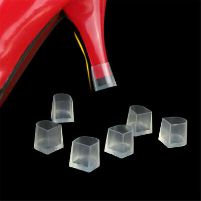 2PCS Clear High Heel Protectors Stopper Protect Heels Stiletto Shoes Covers