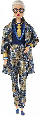 Barbie Collector Styled by Iris Apfel Doll with Floral Suit Toy Gift