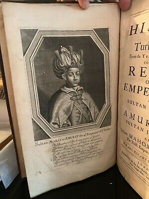Printed 1677: Classic Work On Turkish / Ottoman Empire