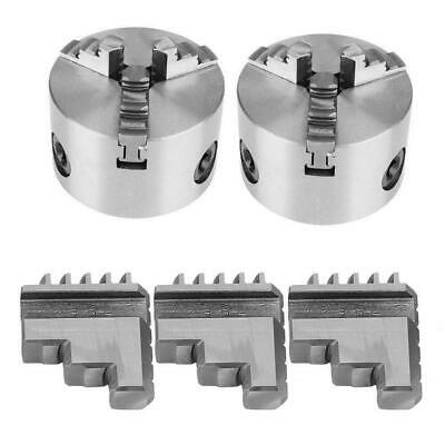 Inside Jaw For 3 Jaw Lathe Chuck Self-Centering Metal Lathe Chuck K11-80 Jaws