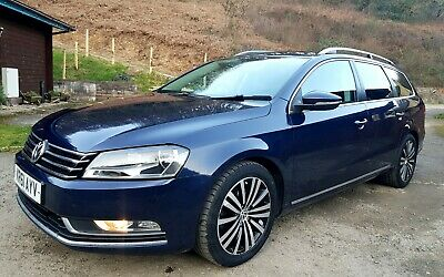 2012 Volkswagen Passat 2.0 Tdi Auto 140 Sport Blue Efficiency 140 Diesel Estate