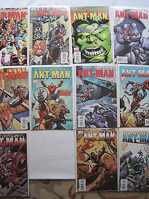 ANT MAN : COMPLETE 2006 12 ISSUE ANT-MAN SERIES by KIRKMAN (WALKING DEAD).MARVEL