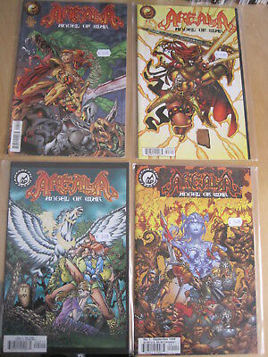 AREALA, ANGEL of WAR : COMPLETE 1999 ANTARCTIC PRESS 4 ISSUE SERIES. NB. MATURE