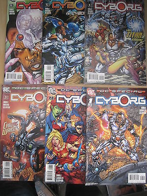 Dc Special : Cyborg, Complete 6 Issue Series. Teen Titans. Sable,lashley.dc.2008