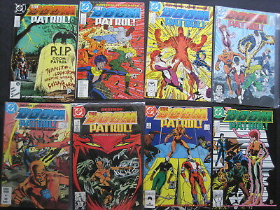 DOOM PATROL : COMPLETE RUN of issues 1 - 16 of the 1987 DC SERIES by KUPPERBERG