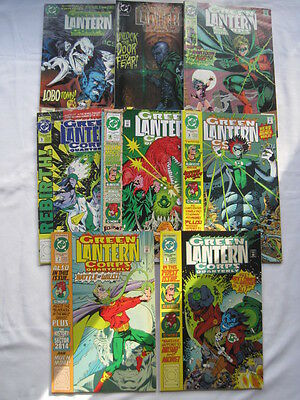 GREEN LANTERN :  CORPS QUARTERLY - COMPLETE G/S  SERIES #s 1 - 8. DC 1992 SERIES