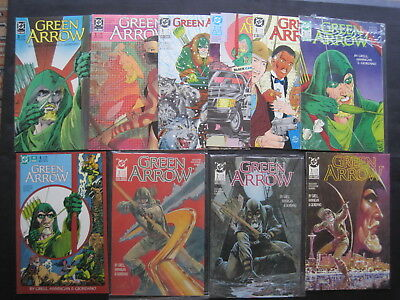 GREEN ARROW : COMPLETE RUN of issues 1 - 20 of the 1988 DC SERIES by MIKE GRELL