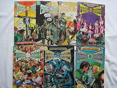 GREEN LANTERN / GREEN ARROW : COMPLETE 7  ISSUE SERIES by O'NEIL & ADAMS.DC.1983