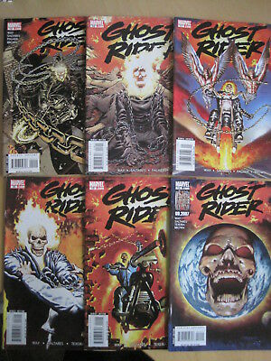 "Ghost Rider 14 - 19, ""REVELATIONS"" COMPLETE 6 issue story by WAY & SALTARES.2007"