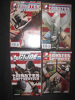 G.i.joe : Master & Apprentice : Complete 4 Issue Series. 1,2,3,4 . Ddp. 2004