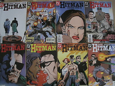 HITMAN 53,54,55,56,57,58,59,60 COMPLETE 8 ISSUE FINAL STORY by ENNIS, McREA.2000