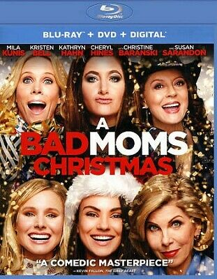 Bad Moms Christmas (BD/DVD Combo), BRH, 2018, UPC 191329021088