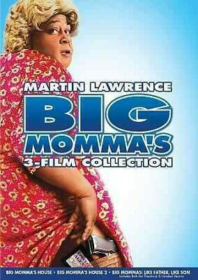 Big Momma's 3-Film Collection, DVD, 2014, UPC 024543989400