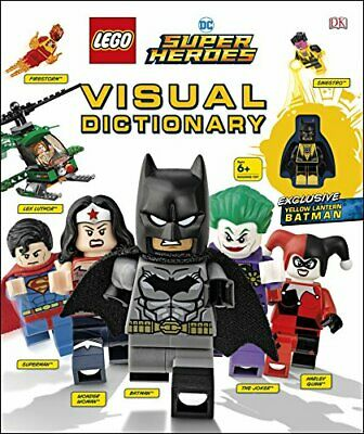 LEGO DC Super Heroes Visual Dictionary: With Exclusive Yellow... by Kaplan, Arie