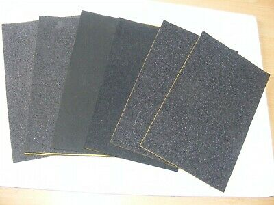 SPECIAL OFFER SIX SHEETS EACH APPROX 125mm X 200mm OF SELF ADHESIVE FOAMS