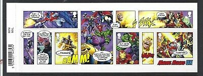 Great Britain 2019 Marvel Miniature Sheet With Barcode Unmounted Mint, Mnh