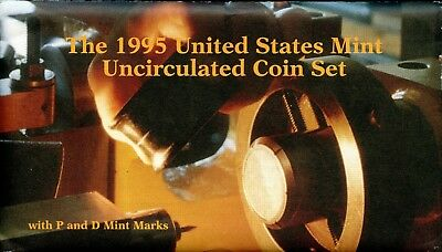 1995- P & D United States Mint Uncirculated Coin Set BC549