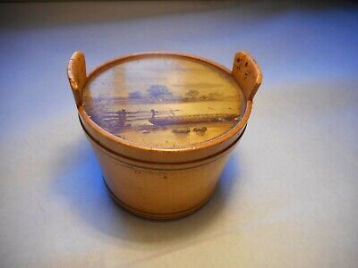 Vintage Wooden Thread Holder Box by James Chadwick & Brother (Sewing item)