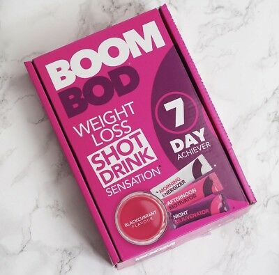 BoomBod 7 Day Achiever - Weight Loss  - FAST&FREE -  Stunning Results! It Works