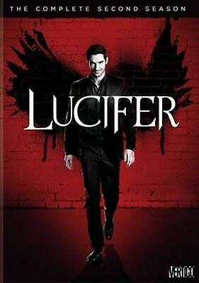 Lucifer:complete Second Season - DVD Region 1 Free Shipping!