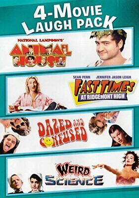 4 Movie Laugh Pack (DVD, 2014, Widescreen, 2-Disc Set) NEW
