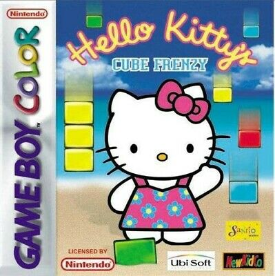 Nintendo GameBoy Color Spiel - Hello Kitty's Cube Frenzy Modul