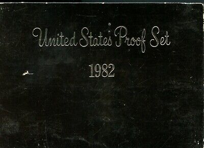 Uncirculated 1982 S United States Proof Set of (5) Coins EB333
