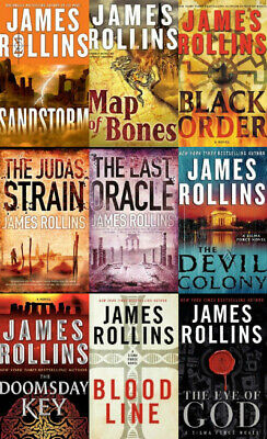 Complete Set Series - Sigma Force 1-13 Audiobooks By James Rollins