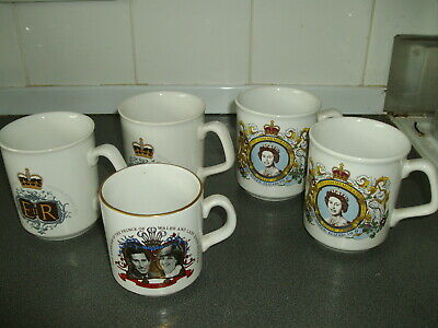 Royal Commemorative Mugs  (2)