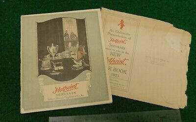 1923 Edison Electric Appliance Co. / Hotpoint Catalog w/ Additional Paperwork