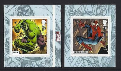 Great Britain 2019 Marvel Self Adhesive Pair Ex.  Booklet  Unmounted Mint, Mnh